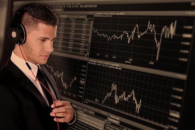 トレード中の機関投資家の画像